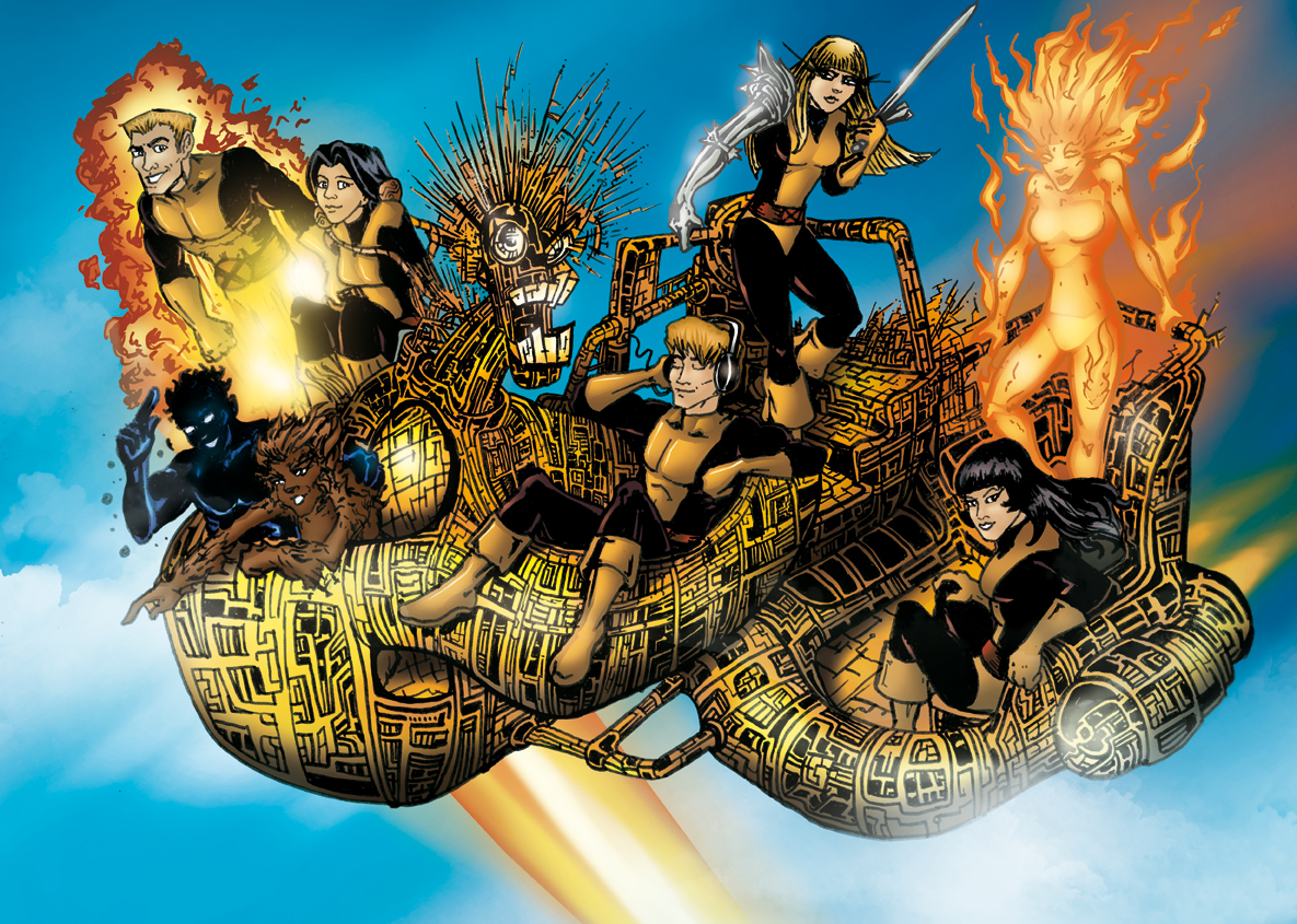 New Mutants Colour