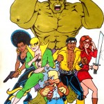 H is for Hulk, Howard & the Heroes for Hire