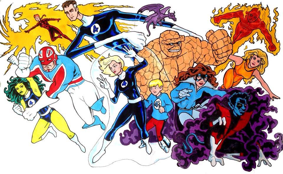 E & F are for Excalibur & Fantastic Four
