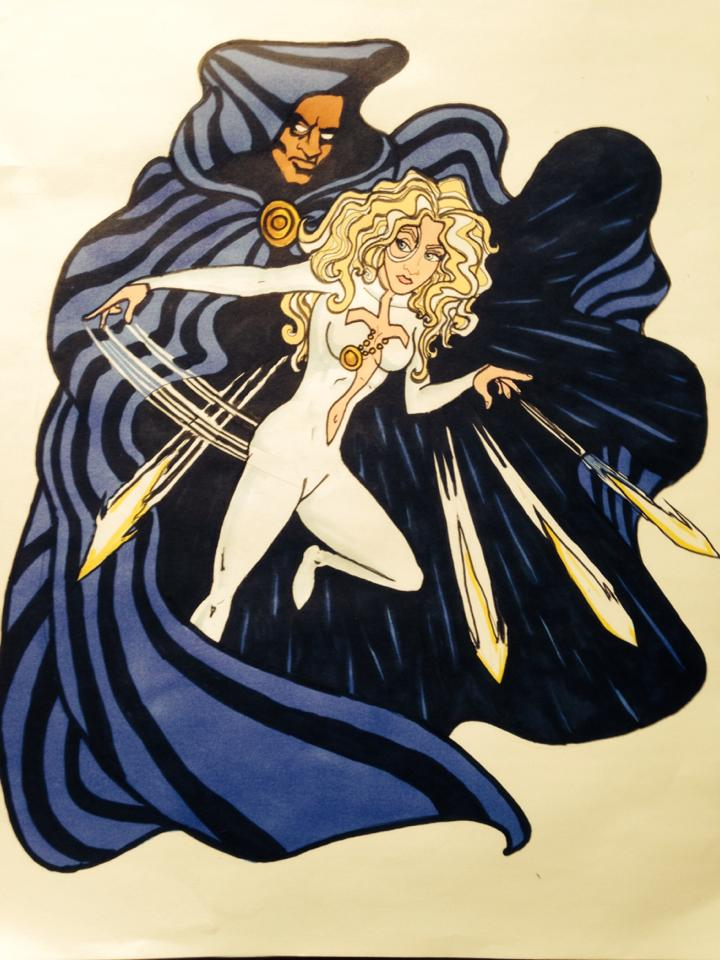 C is for Cloak and Dagger