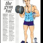 Illustration #1 The Gym Rat