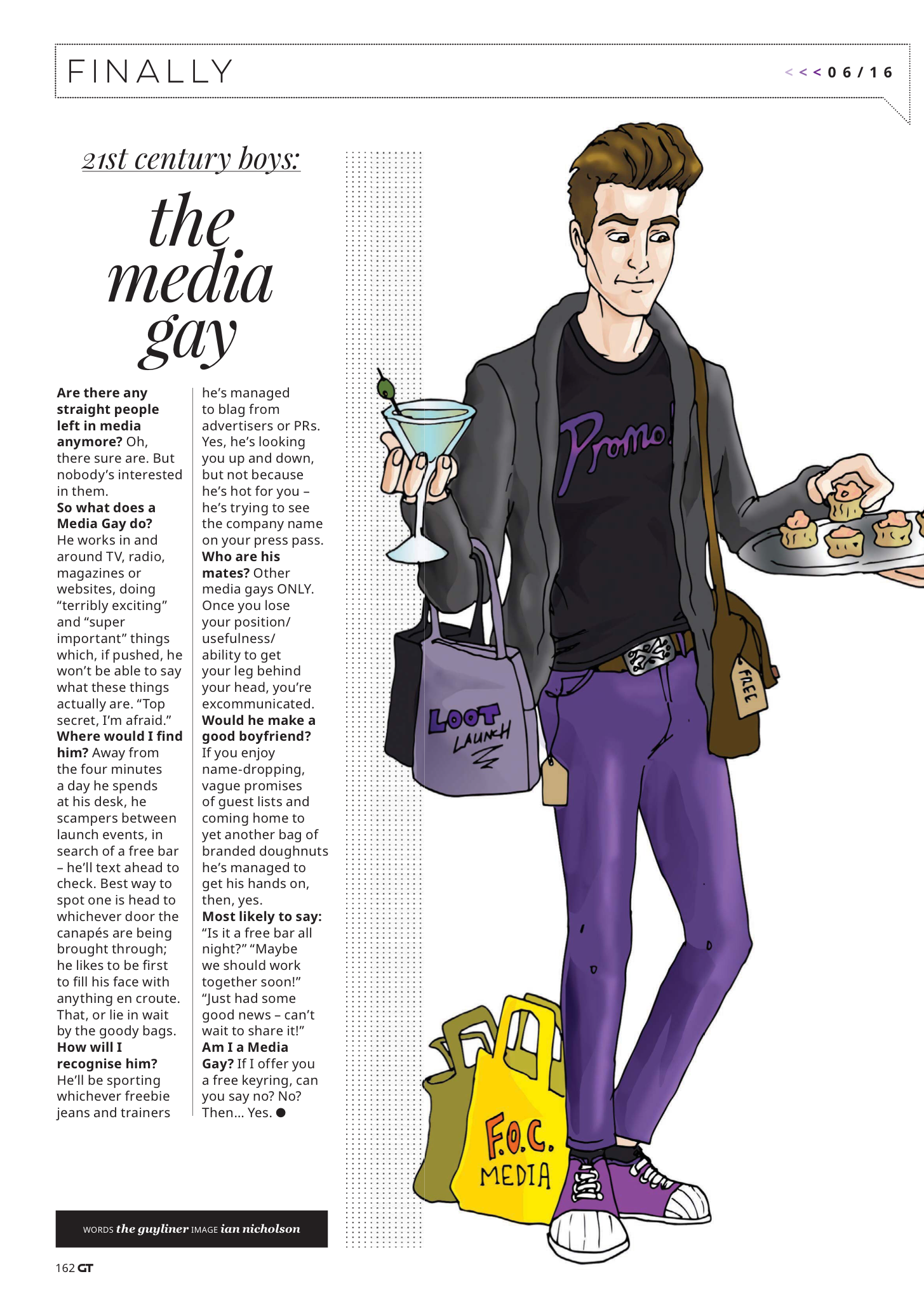 Illustration #8 Media Gay