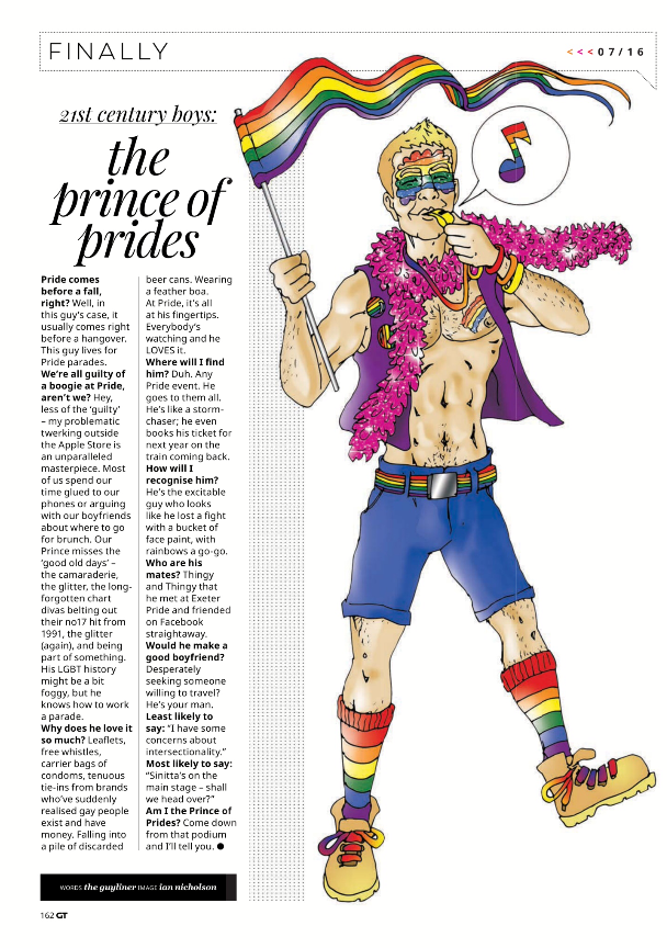 Illustration #9 Prince of Prides